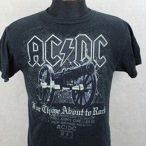 AC/DC For Those About To Rock Band T-shirt USA